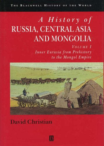 9780631183211: A History of Russia, Central Asia and Mongolia, Vol. 1: Inner Eurasia from Prehistory to the Mongol Empire
