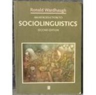 9780631183532: An Introduction to Sociolinguistics (Blackwell Textbooks in Linguistics)