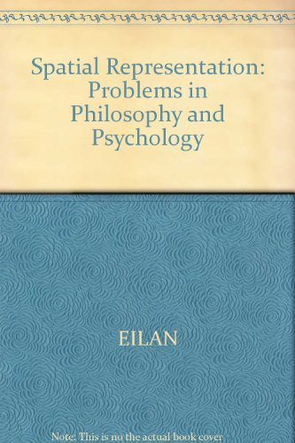 9780631183556: Spatial Representation: Problems in Philosophy and Psychology