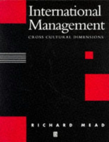9780631183693: International Management: Cross-Cultural Dimensions