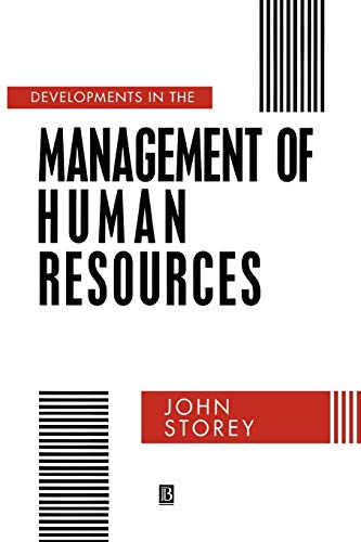 9780631183983: Developments in the Management of Human Resources: An Analytical Review (Warwick Studies in Industrial Relations)