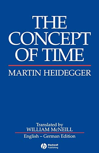 9780631184256: The Concept of Time