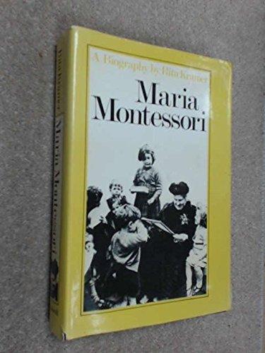 9780631184300: Maria Montessori: A Biography
