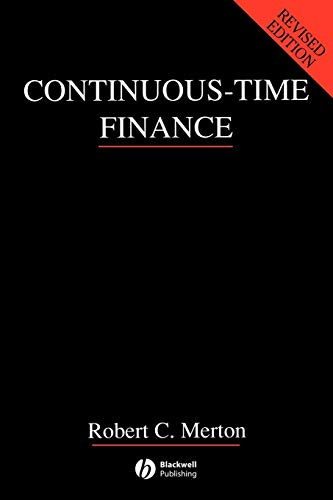 9780631185086: Continuous Time-Finance Rev (Macroeconomics and Finance)