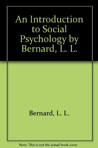 9780631185840: An Introduction to Social Psychology