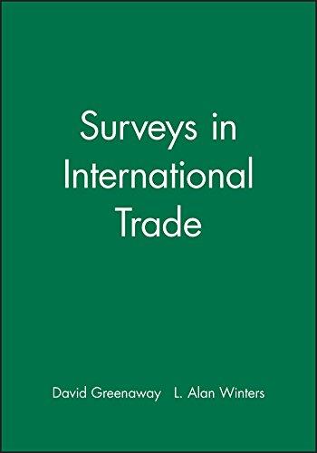 9780631185895: Surveys in International Trade