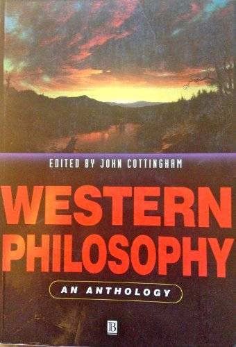 9780631186267: Western Philosophy: An Anthology (Blackwell Philosophy Anthologies)