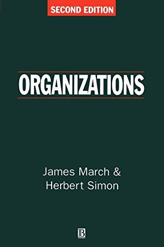 9780631186311: Organizations
