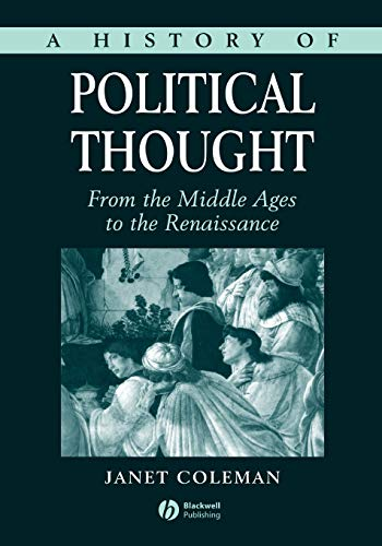 9780631186533: A History of Political Thought: From the Middle Ages to the Renaissance