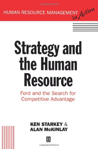 9780631186748: Strategy and the Human Resource (Human Resource Management in Action)