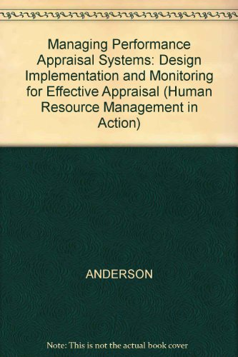 9780631186854: Managing Performance Appraisal Systems (Human Resource Management in Action)