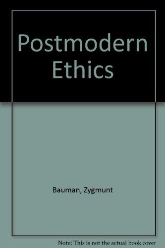 9780631186922: Postmodern Ethics