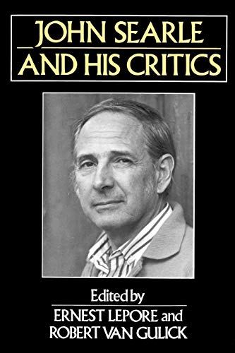 9780631187028: John Searle and His Critics