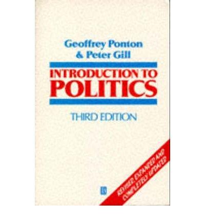 9780631187837: Introduction to Politics