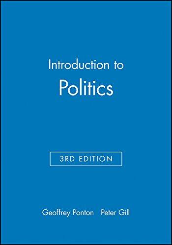 9780631187844: Introduction to Politics