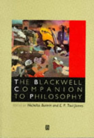 9780631187899: Blackwell Companion to Philosophy (Blackwell Companions to Philosophy)