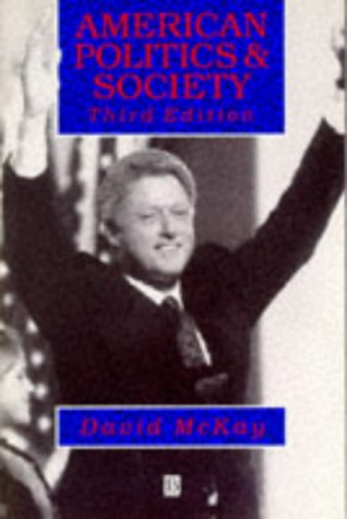 9780631188148: American Politics and Society