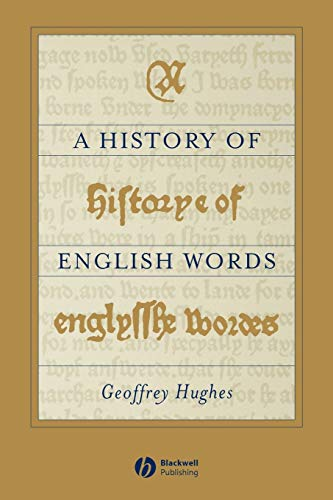 9780631188551: history of English Words (The Language Library)