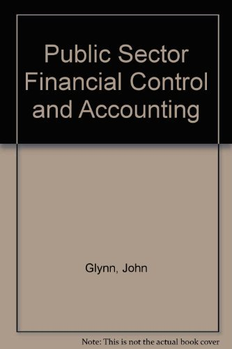 Public Sector Financial Control & Accounting