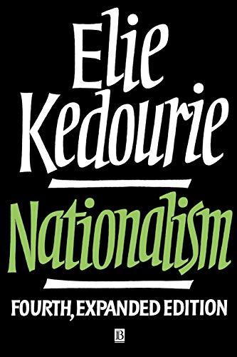 9780631188858: Nationalism