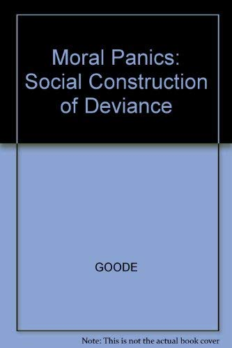 9780631189046: Moral Panics: The Social Construction of Deviance