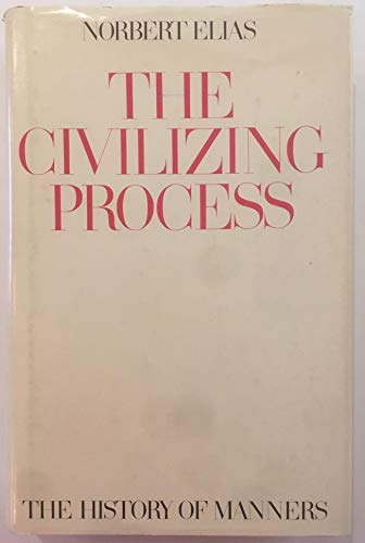 9780631189305: The Civilizing Process: History of Manners v. 1