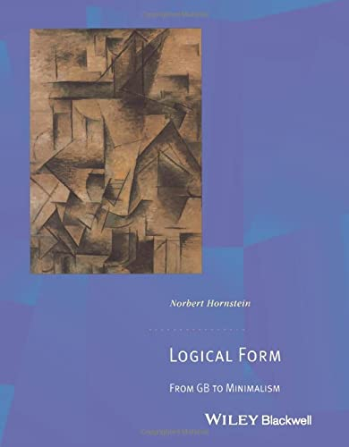 9780631189428: Logical Form: From GB to Minimalism