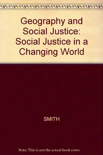 9780631190257: Geography and Social Justice
