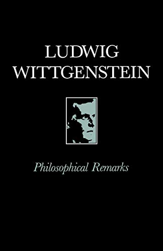 9780631191308: Philosophical Remarks