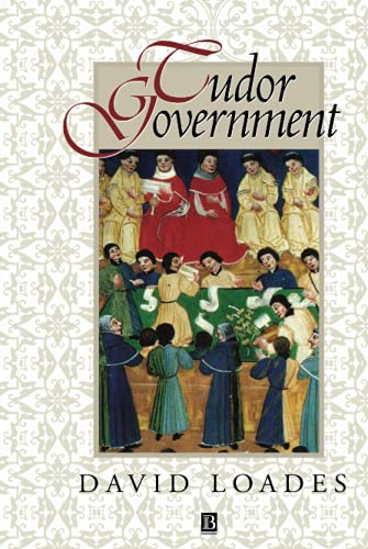 9780631191568: Tudor Government: Structures of Authority in the Sixteenth Century