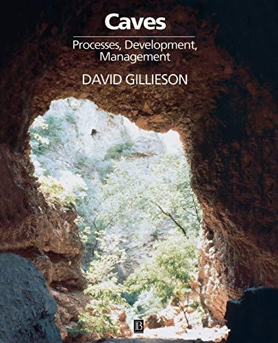 9780631191759: Caves: Processes, Development and Management