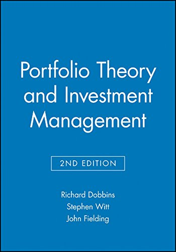 9780631191827: Portfolio Theory and Investment Management