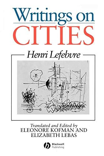 9780631191889: Writings on Cities
