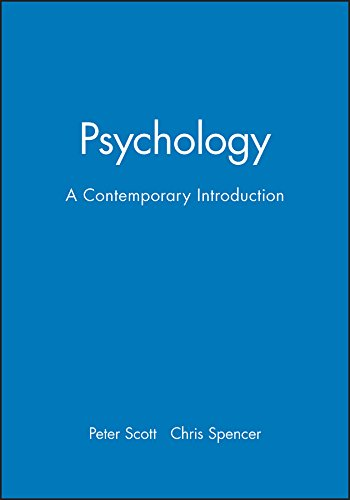 9780631192350: Psychology: A Contemporary Introduction