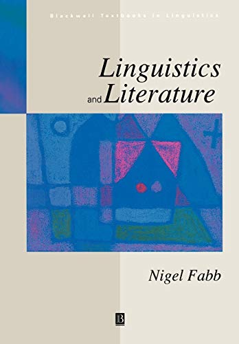 9780631192435: LINGUISTICS AND LITERATURE (Blackwell Textbooks in Linguistics)