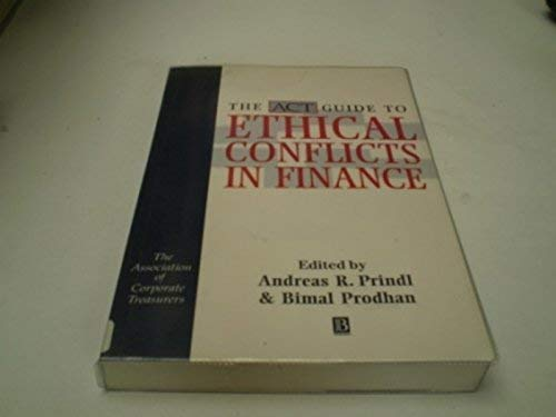 9780631192640: Ethical Conflicts in Finance