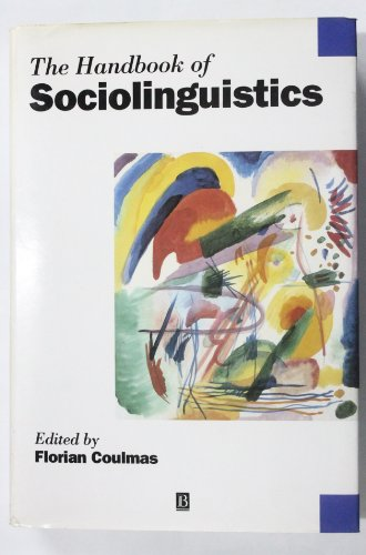 9780631193395: Handbook of Sociolinguistics (Blackwell Handbooks in Linguistics)