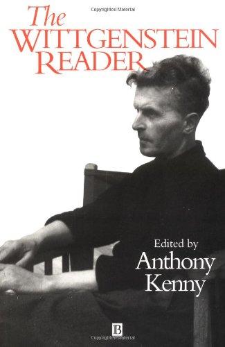 The Wittgenstein Reader: Kenny, Anthony [ed.]