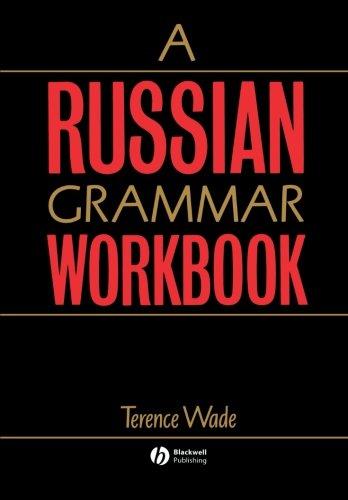 9780631193814: A Russian Grammar Workbook