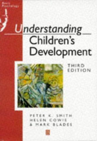 9780631194125: Understanding Children's Development (Basic Psychology)