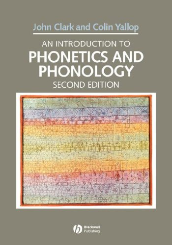 9780631194521: An Introduction to Phonetics and Phonology (Blackwell Textbooks in Linguistics)