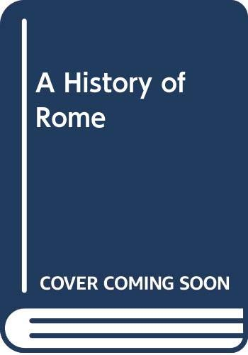 9780631194576: A History of Rome