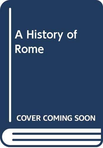A History of Rome (0631194576) by Marcel Le Glay; Yann Le Bohec; Jean-Louis Voisin