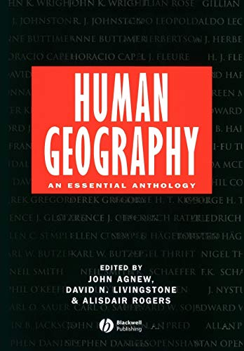 9780631194613: Human Geography: An Essential Anthology
