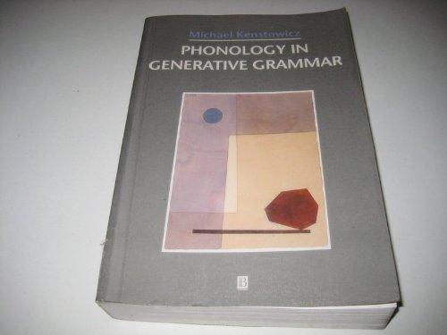 9780631195139: Phonology in Generative Grammar (Blackwell Textbooks in Linguistics)
