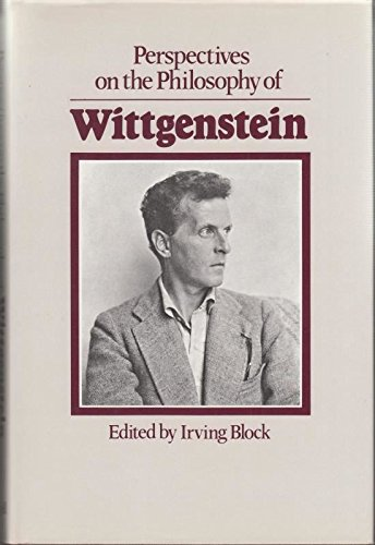 9780631195504: Perspectives on the Philosophy of Wittgenstein