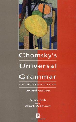 9780631195566: Chomsky's Universal Grammar 2e