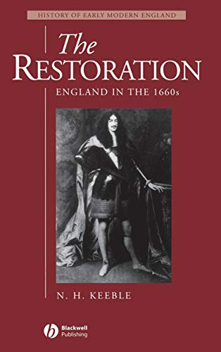 9780631195740: The Restoration: England in the 1660s (History of Early Modern England)