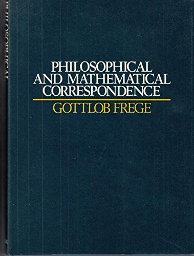 9780631196204: The Philosophical and Mathematical Correspondence