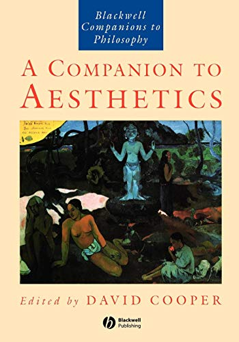 9780631196594: A Companion to Aesthetics (Blackwell Companions to Philosophy)